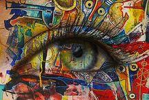 Murals / Wall Street art