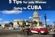 Cuba / SOLO FEMALE traveling to CUBA is so much more do-able than  you think. I've felt safer in Cuba on my own than in so many other places. I have ended up in fairly UNUSUAL circumstances though...Click here to read about my fortunes and misfortunes, and subscribe for FREE -> http://www.leavingthecity.com/category/cuba/