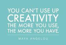 creativity / creative ideas, creativity, creativity quotes, creativity tools, creative writing, creative thinking, creative typography, creative inspiration