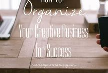 "The Art of Organization / Productivity can be a direct reflection of your environment...Learn some tips to clean ""it"" (space) up so you can get ""it"" (work) done!"