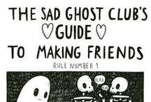 Spécial: Sad Ghost Club's | Guia para Fazer Amigos / @theofficialsadghostclub