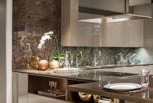A kitchen design