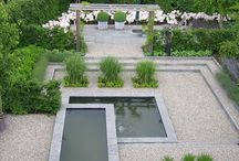 A garden design