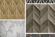 Wall textures / Textured walls & panels