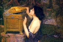 pre-raphaelites / Millais, burne-jones, Rossetti, Holman hunt, Waterhouse, Morris, etc