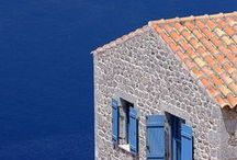Greece / Blue and white