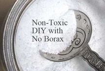 Household Cleaners / Household Cleaners with natural ingredients without harsh chemicals