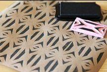 Empreintes / tampons / traces