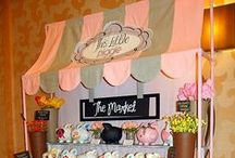 Craft Show Ideas / Ideas for craft shows...setting up the table, backdrops, ways to display products