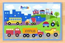 KIDS: placemats / Personalized Olive Kids brand kids placemats by Art Appeel!