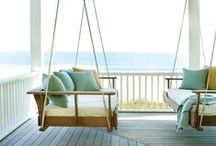 HOME: porch / Welcome the world with a beautiful front porch!