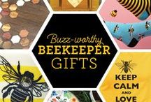 Gifts for Beekeepers / Great gift ideas for backyard beekeepers & anyone who loves bees or honey. Most products on this board are made by small artisans and some are even beekeepers. Save the Bees!!!