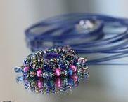 Médaillons et Pendentifs / Photos et schémas de médaillons et autres pendentifs en perles. Fait-main bien sûr!