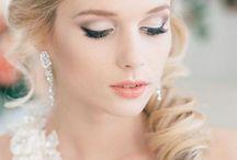 HOCHZEIT #make-up / Ihr seid Braut und sucht Inspiration: hier findet ihr eine Auswahl ein traumhaft schönen Braut-Make-up