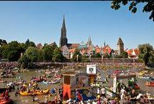 Veranstaltungen Ulm/Neu-Ulm / Veranstalungen in Ulm und Neu-Ulm. Highlights wie die Schwörwoche, das Donaufest, die Kulturnacht, Sportevents und und und  #ulm #events #germany #badenwürttemberg