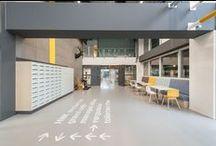 HNK / Het woord zegt het al met Het Nieuwe Kantoor maken we op maat gemaakte plannen, zowel conceptueel als functioneel, voor de upgrading van hele gebouwen, met als doel leegstand tegen te gaan en dus maken we een nieuw kantoor.