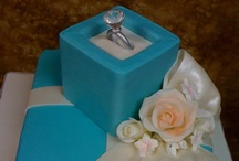 Engagement Cakes / Here's a closer look at our engagement cakes.