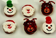 Holiday Cupcakes / Here are a few of our tasty treats for this holiday season.