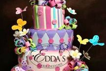 Quinces & Sweet Sixteen / A collection of our quinces and sweet sixteen cakes. - EddasCakeDesigns.com