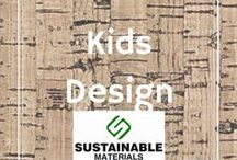 Kids Design for the Home / Great home decor ideas for kids rooms.