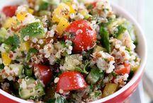 Receitas saudáveis / Healthy recipes / Healthy Recipes Chia, Quinoa, vegetariana