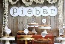 DIY Party Bars / All kinds of DIY party bars. From savory to sweet!
