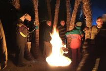 Festes de foc als Pirineus / A molts dels pobles del Pirineu s'hi celebren les festes de foc (falles, haros i brandons). Torxes enceses amb un foc vital i renovador es baixen de les muntanyes fins a la plaça del poble on encenen un arbre de foc.  És una gran celebració de caràcter transfronterer i un dels màxims exponents del patrimoni cultural pirinenc.  Al desembre de 2015 han estat reconegudes pel seu gran valor patrimonial i inscrites en la Llista Representativa del Patrimoni Cultural Immaterial de la UNESCO.