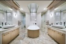 Bathrooms / A luxurious collection of bathrooms by Luxus Homes
