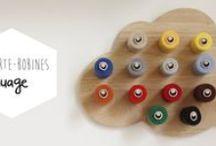 Organiser son atelier ! / Un atelier bien organisé, c'est du temps de gagner pour faire ce qu'on aime, coudre, tricoter, crocheter, faire du macramé, inventer, s'évader...