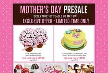 Mother's Day Presale 2016 / Our Mother's Day Presale is on! Orders must be placed by May 3rd, 2016. Download the order form from our website here: http://eddascakedesigns.com/mothers-day-presale/
