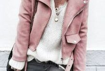 Fashion: Pink & Grey / Pink and Grey is a winning colour combination as shown on this board
