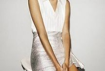Fashion: Metallics & Sparkle /  Shimmer, sparkle and Metallics for all seasons and looks