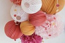 .:. decoração com papel