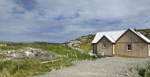 1 Bed Bespoke Wee House on Isle of Harris / This custom built 1 bedroom Wee House is unique as it has a skylight, bi-fold doors, extra panes of glass around the French doors and a log burner.  The porch area is wider than standard brochure sizes, and has a barn style door opening into the hall area.