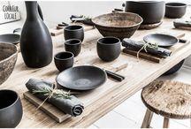 Art de la table - Table art - Vaisselle - Dishes