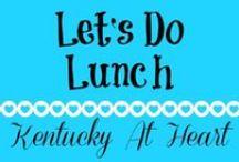 Lunch - Kentucky at Heart / Lunch ideas and recipes at KentuckyAtHeart.com