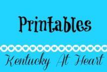 Printables - Kentucky at Heart / Printables - Kentucky at Heart
