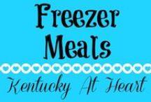 Freezer Meals - Kentucky at Heart / Freezer Meals on Kentucky at Heart