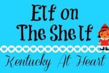 Elf on the Shelf - Kentucky at Heart / Elf on the Shelf ideas