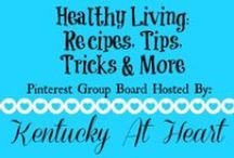 Healthy Living--Recipes, Tips, Tricks & More / Welcome to our Healthy Living group board. Please share your healthy recipes, tips, tricks, advice, and experiences with us on this group board. Please do not link up the same post more than once. If you would like to receive an invitation to be a contributor on this board please email us at kentuckyatheart@gmail.com. **No pins to etsy shops, giveaways, linky parties or anything for sale.**