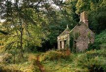 Devon-Cornwall-English cottages