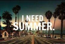 Summer / L'inspiration. La joie. Le bonheur. La liberté. Les pastèques. La vie. L'été. (: