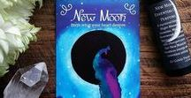 New Moon Rituals + Inspiration / You can channel the New Moon Energy to help you with manifesting your dreams & desires! New Moon Blessings :)