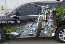 3d наклейки на авто / Компания Astart3d предлагает разработку дизайна, изготовление и монтаж 3d наклеек на авто по самым низким ценам  в Украине. Профессиональная команда дизайнеров, печатников и монтажников всегда готова выполнить любой Ваш заказ качественно и в срок. http://asphalt-art.com.ua/ #car_stickers  #3d_car_stickers