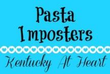 Pasta Imposters, Zucchini Noodles & More -- Kentucky at Heart / Oodles of zoodles and other fake noodles at Kentucky at Heart. Zucchini noodles, spaghetti squash and other spiralized vegetables.
