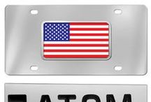 Custom License Plates / Our line of custom license plates come in a variety of styles
