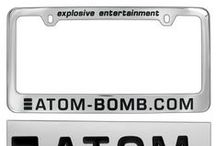 Custom Zinc License Plate Frames / Due to the versatility of our zinc alloy, we feature both rotary and engraved, as well as die-casted styles of the license plate frames. With numerous plating options to choose from, you're sure to find the right style for you