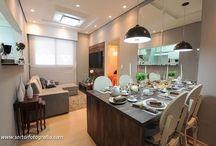 Apartamento pequeno / Cantinho confortável