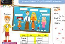 FRANCAIS / LA FAMILLE