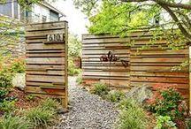 Aidat / Aitoja käytetään tuulensuojaksi, näkö- tai melusuojaksi ja tilaa rajaamaan.
